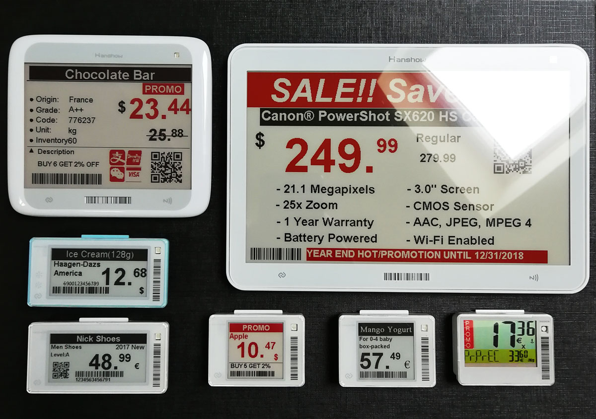 Systemy elektronicznych etykiet cenowych